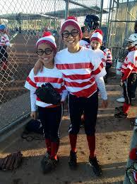 Wheres Waldo Halloween Costume 25 Team Costumes Ideas Baseball Halloween