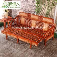 wicker sleeper sofa living room furniture set multi purpose king wicker rattan