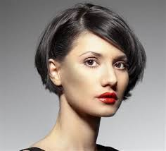 women hair cuts behind ears short at the neckline but long enough to put behind the ear new