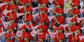 Cheerleader Flags The Mesmerizing Spectacle Of North Korea U0027s U201carmy Of Beauties U201d At