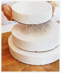 wedding cake layer how to assemble a tiered wedding cake sunset magazine