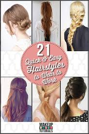 Easy Hairstyles For Medium Hair At Home by 64 Best H A I R S T Y L E S Images On Pinterest Hairstyles