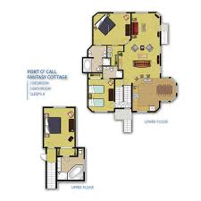 floor plans for cottages hilton head island port o u0027 call resort