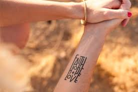 armed with truth temporary tattoos