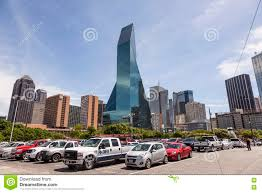 Wells Fargo Invitation Only Credit Card Wells Fargo Bank Building In Dallas Downtown Editorial Stock Photo