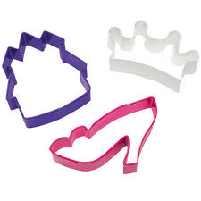 princess cookie cutters wilton