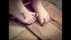 tattoo designs foot youtube