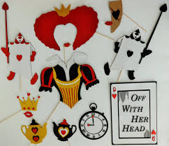 photo booth props queen of hearts halloween