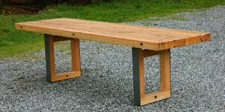 custom mondo douglas fir dining table by smithson fine furniture
