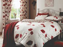 bedroom flower print linen cotton bedding curtain set wayne