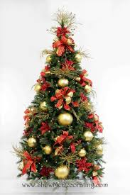 Silver And Gold Holiday Decorations Christmas Tree Decorations Red And Gold Christmas Tree Red And