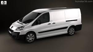 peugeot vans peugeot expert ii panel van l2h1 2011 by 3d model store humster3d