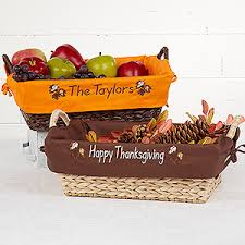 personalized basket personalized decorative wicker basket fall leaves