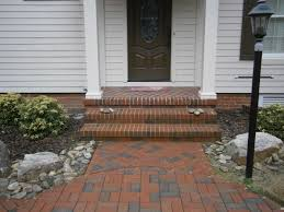 Basket Weave Brick Patio by Rk Masonry
