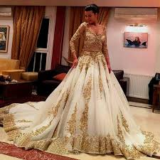 white wedding dress with gold beading gold and ivory wedding dress naf dresses