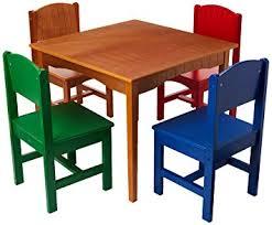 kidkraft nantucket table and chairs kidkraft 26121 nantucket table and primary chairs amazon ca toys
