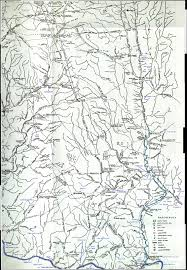 Napoleon Ohio Map by Ohio Indian Villages And Trails