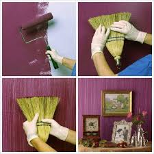 Wall Texture Ideas 13 Brilliant Diy Ideas Make A Textured Painted Wall With A Broom