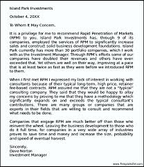 sample personal letter of recommendation templatezet