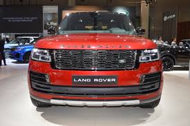 range rover modified red 2018 range rover svautobiography dynamic showcased at the 2017
