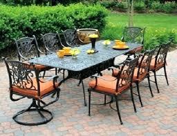 cast aluminum outdoor dining table u2013 sarasota me
