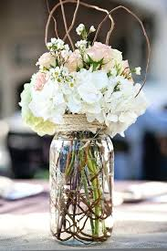 jar flower arrangements tinted jars are for small floral centerpieces
