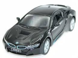 bmw hybrid sports car kinsmart bmw i8 black in hybrid sports car 1 36 die cast