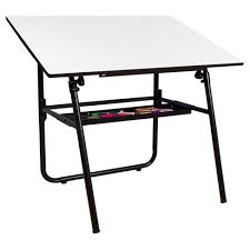 Foldable Drafting Table Ultima Fold A Way Drafting Table Studio Designs Target