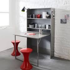 table meuble cuisine meuble de rangement avec table escamotable table escamotable