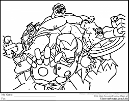 magnificent avengers printable coloring pages with hawkeye