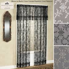 downton lace window treatment