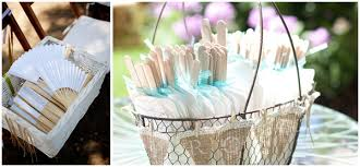 basket for wedding programs top tips for a guest friendly summer wedding in weddbook