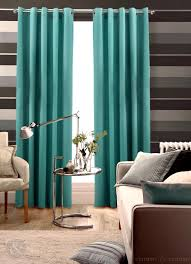 excellent teal faux silk modern drapes for windows treatment added