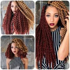 crochet twist hairstyle 22 havana mambo twist crochet braid hair extensions synthetic