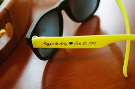 sunglasses wedding favors personalized sunglasses wedding favors moritz flowers