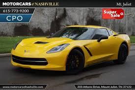 east tennessee corvette used chevrolet corvette for sale in tennessee carsforsale com
