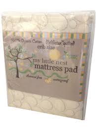Naturepedic Mini Crib Mattress by Organic Mini Crib Mattress Pad Creative Ideas Of Baby Cribs