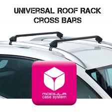 Ors Roof Racks by Modula Universal Fit Roof Rack Cross Bars For Flush Railings Youtube