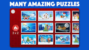 santa christmas jigsaw puzzles for kids u0026 toddlers android apps
