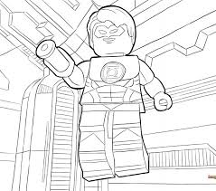 coloring pages gorgeous green lantern coloring pages guy gardner