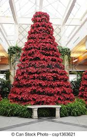 poinsettia tree poinsettia tree a christmas tree composed only of