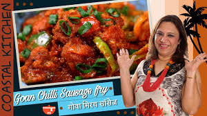 goan sausage chilli fry goan chicken recipes roopa nabar
