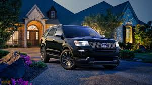 Ford Explorer Platinum - what u0027s new with the 2018 ford explorer u2013 price specs release