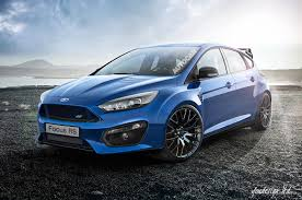jake paul car ford focus rs rendered by autocar