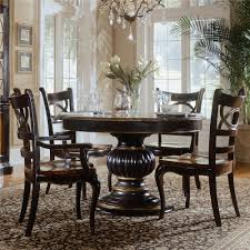 Bobs Furniture Farmingdale by Hooker Furniture Preston Ridge Pedestal Dining Table Ahfa