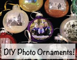diy how to make photo ornaments