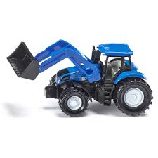 siku new holland diecast tractor with front loader 8 00