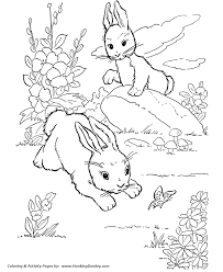 farm animals coloring page farm animal coloring pages printable wild rabbits play coloring