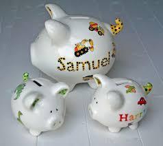 personalised piggy bank 243 best piggy banks images on piggy banks