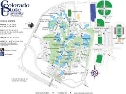 Gt Campus Map Colorado State University Campus Map Colorado State University